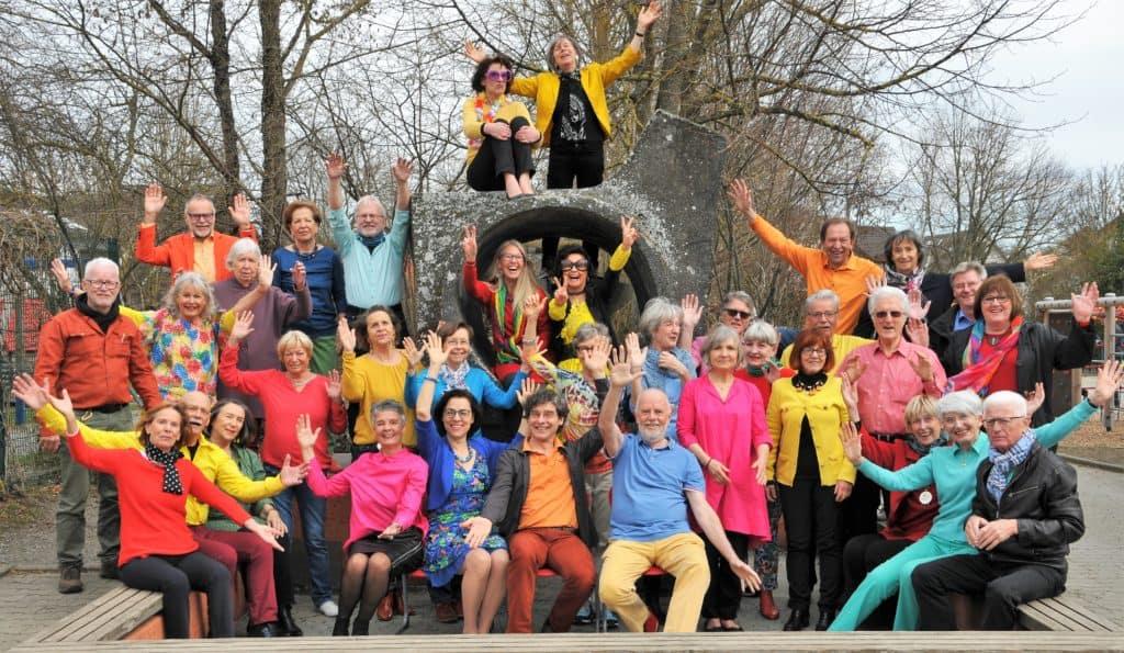 Gruppenfoto-Popchor-grenzenlos-Kreuzlingen-Konstanz-Bodensee-Konzert